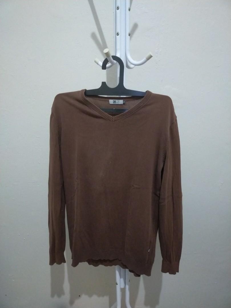 #THR2021 Sweater Pria Coklat