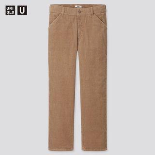 Uniqlo U 聯名 Lemaire燈芯絨 REGULAR FIT 直筒長褲(腰圍79)