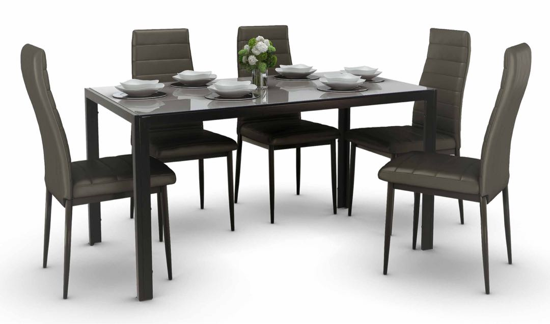 Used Dining Table Set 4 Chairs, Used Dining Room Table Sets