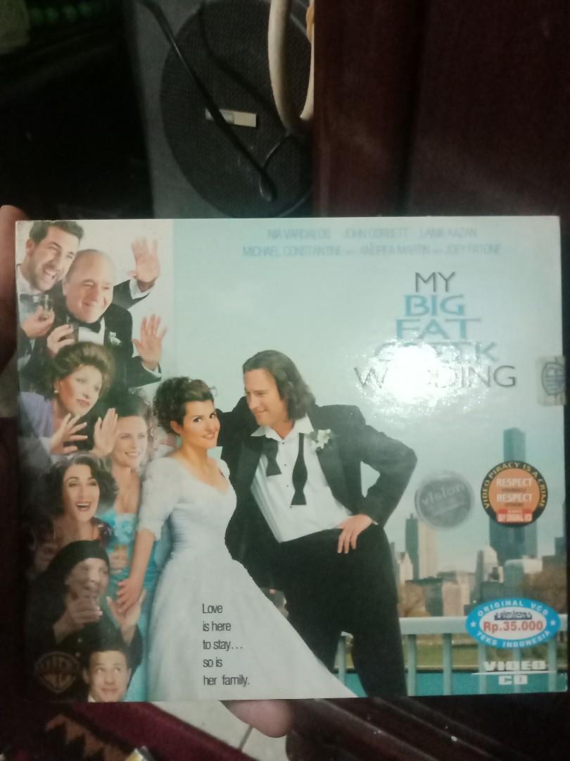 Vcd MY BIG FAT GREEK WEDDING
