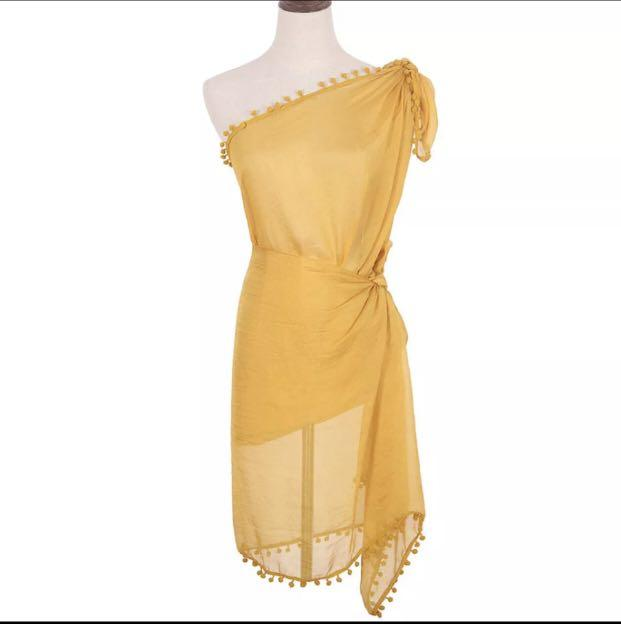 Women's one size cover up tie up