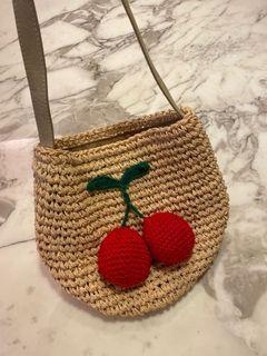 櫻桃水桶編織袋🍒
