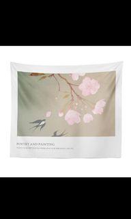 日式文青風格掛布 掛布 背景布