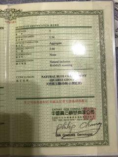 全新 現貨 天然 珠寶級 高冰種  台灣藍寶 手鐲216.66克拉 附證書 G-309709
