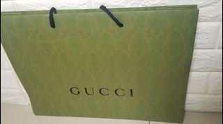 古驰纸袋 Gucci Gift paper bag $50 each