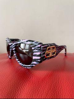 Balenciaga Sunglasses BB0070S - 004 Pink Round Oval 巴黎世家 太陽眼鏡 🕶️