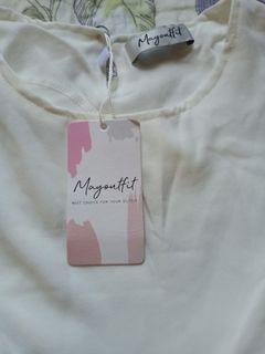 Blouse putih Myoutfit