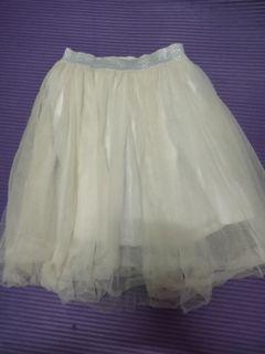 日本品牌enchante petit女童白紗裙 size:120