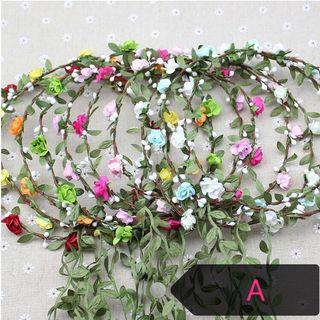 Hair Garlands,Flower anadem , wreath, floral corolla, Hydrangea