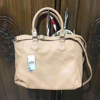 handbag & slingbag  cream
