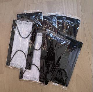 [INSTOCK] Black Face Mask - Individually packed