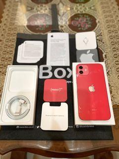Iphone 12 128Gb Ibox Red,Cuma Di Unboxing