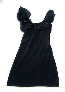 Little black dress, mini dress