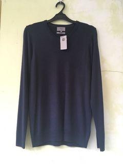 Marks & Spencer Cashmilon V Neck Jumper Sweater BNWT (not uniqlo zara h&m mango ben sherman fred perry)