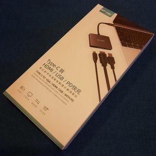 MT-VIKI Type-C to HDMI / USB / PD 轉換器
