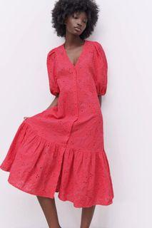 New !! Zara Cutwork embroidery Dress
