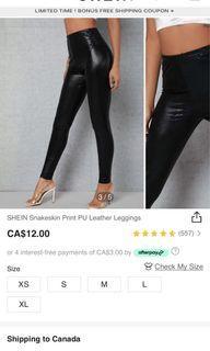 NEW Shein black pants