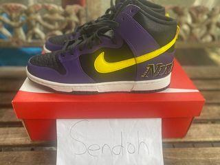 Nike Dunk High Lakers