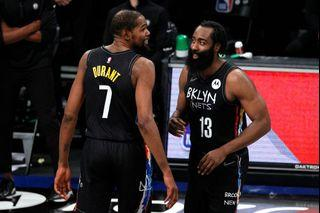 NIKE NBA SWINGMAN 籃網城市版 哈登球衣