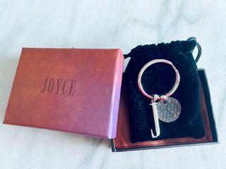 """Personalized customized gift Joyce """"J"""" Keychain"""
