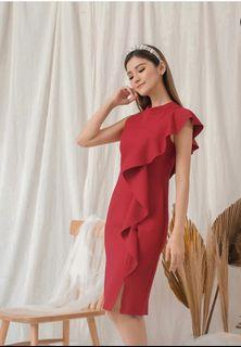 Dress Red Room25