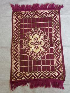 Sejadah Muka Panjang ( Mini Prayer Mat)