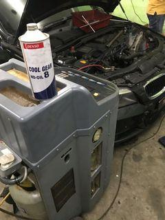 servis flushing a/c kereta