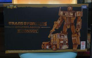 Takara Tomy Transformers 35th Golden Lagoon  Convoy Optimus Prime Gold