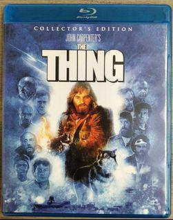 The Thing Collector's 2-Disc edition Shout Factory John Carpenter Blu-ray