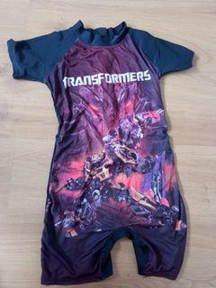 Transformer swim suit