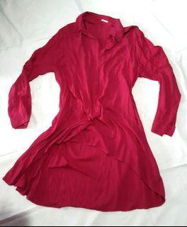 Tunik pink stabilo