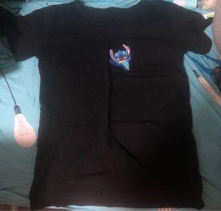$15一件 全新女裝/男裝史迪仔短袖T Shirt 上衣(台灣買)全新.但洗過(有兩件)