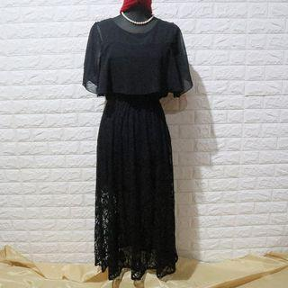 2 Way Black Dress