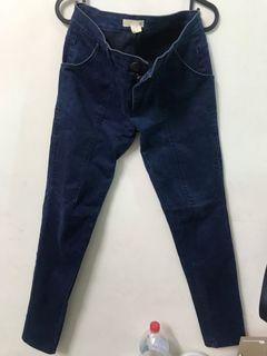 50%深藍直筒牛仔褲#loveislove