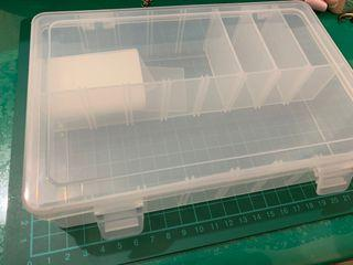 9成新 透明收納盒