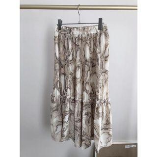 水墨渲染壓褶裙