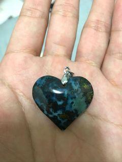 藍寶️ (花寶)❤️愛心墜飾