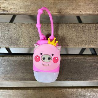 清貨特價🐷可愛小豬 酒精搓手液套連空瓶 兒童返學必備👧🏻💕💕