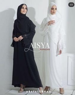 Abayalubna Aisya black in size 50