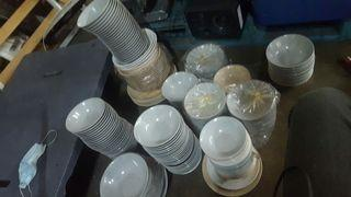 almost 300 to 500pcs of  bowls/plates from 50cts each