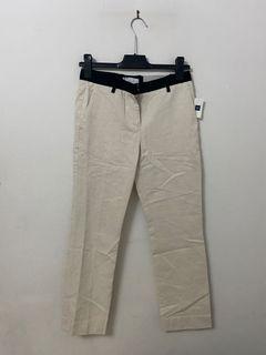 BRAND NEW - GAP tailored crop linen dress pant - size 00 regular