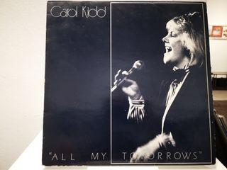 Carol Kidd - All My Tomorrows LP, vinyl