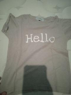 Dearally tshirt hello