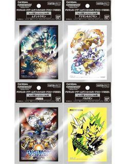 Digimon TCG Official Card Sleeves 2021
