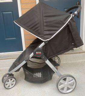 EUC Britax B-Agile lightweight stroller