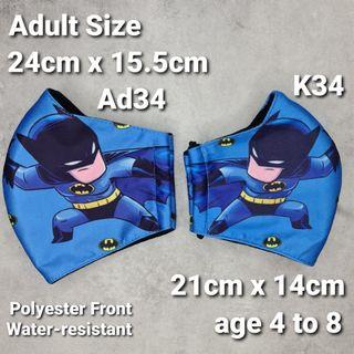 Father and Son Batman Mask