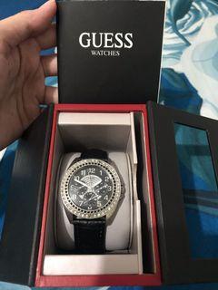 Jam tangan Guess Ori Nego
