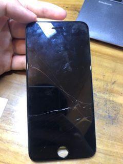 iPhone 7 螢幕 可觸控可顯示 一切安好 只是破掉了