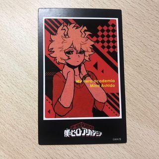 日本jumpshop我的英雄學院零食附贈貼紙