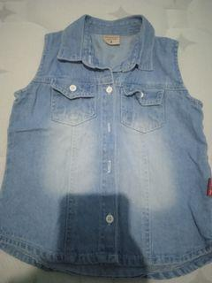 Junior jeans vest